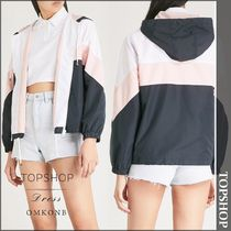 【国内発送・関税込】TOPSHOP★Colour-block shell jacket