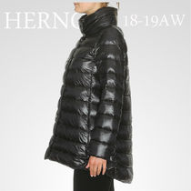 18-19AW★HERNOハイカラーダウン/PI0505DIC 12017 BLK 関税/送込