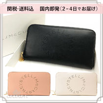 【関税込】国内発[Stella McCartney] STELLA LOGO WALLET 長財布