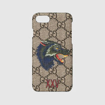18SS Wolf print iPhone 7 case