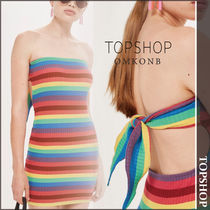 【国内発送・関税込】TOPSHOP★Rainbow Bandeau Dress