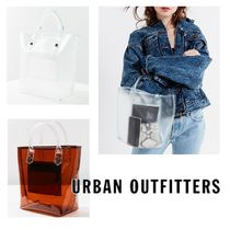 """""""Urban Outfitters"""" クリアバッグ ミニトート"""
