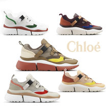 Chloe 2019AW 新作 Sonnie Low Top ダッドスニーカー 5色