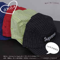 Supreme Contrast Ripstop Camp Cap 2018SS