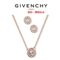 GIVENCHY(ジバンシィ) ネックレス・ペンダント 送料・関税込★Givenchy★クリスタルネックレス&ピアスセット