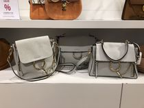 "VIP SALE!!!【Chloe】 ""Faye"" Small Day  Bag (AIRY GREY)"
