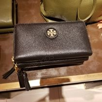 2018SS♪ Tory Burch★ WHIPSTITCH LOGO ZIP CONTINENTAL WALLET