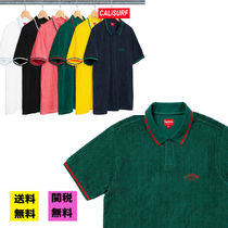 【WEEK17】SS18 SUPREME CABLE KNIT TERRY POLO/送料込み