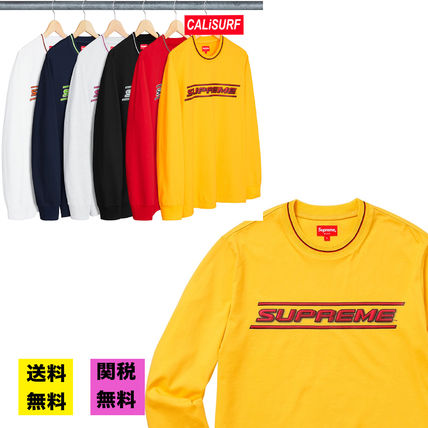 Supreme Tシャツ・カットソー 【WEEK17】SS18 SUPREMEシュプリーム BEVEL L/S TOP BUYMA最安値