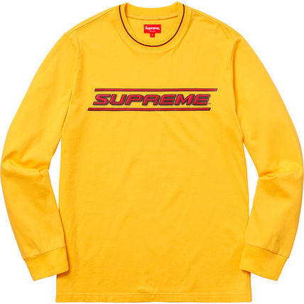 Supreme Tシャツ・カットソー 【WEEK17】SS18 SUPREMEシュプリーム BEVEL L/S TOP BUYMA最安値(3)
