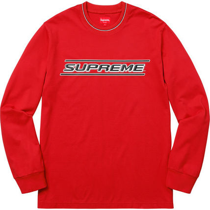 Supreme Tシャツ・カットソー 【WEEK17】SS18 SUPREMEシュプリーム BEVEL L/S TOP BUYMA最安値(4)
