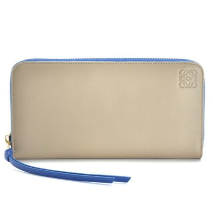 国内発送 LOEWE  長財布 109N80.F13 ZIP AROUND WALLET