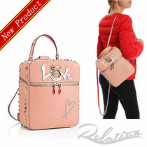 ★18AW★【Christian Louboutin】Rubylou バックパック/Latte