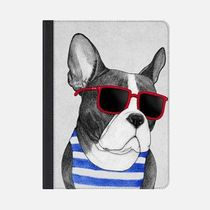 ★Casetify★iPadケース*FRENCHIE SUMMER STYLE