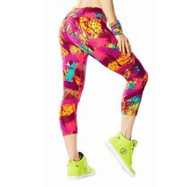 ☆ZUMBA・ズンバ☆Very Samba Perfect Capri Leggings