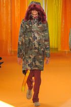 OFF-WHITE ☆ PARKA CAMOUFLAGE ALL OVER 迷彩 パーカー ロング