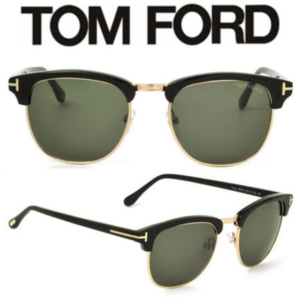9d5f350cac0df TOM FORD サングラス 関送込*TOM FORD* TF0248 05N HENRY ブラック ...