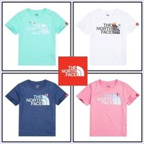 新作!THE NORTH FACE K'S EDGE WATER EX GRAPHIC Tシャツ/4色