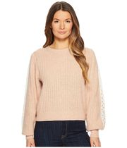 See by Chloe Sweater with Lace Trim セーター セール