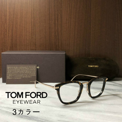 TOM FORD メガネ 【送料、関税込】TOM FORD 人気ウェリントンメガネ FT5496(2)