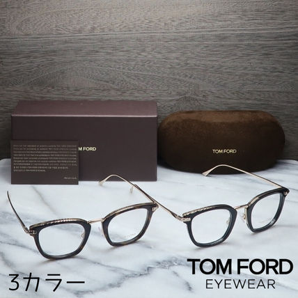 TOM FORD メガネ 【送料、関税込】TOM FORD 人気ウェリントンメガネ FT5496