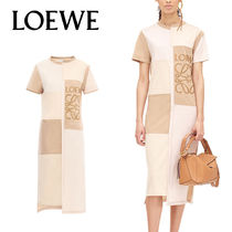 追跡ありで安心☆LOEWE Patchwork T-Shirt Dress