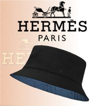 HERMES 2018-19AW Chapeau Raoul ハット クレープツイル