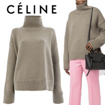 【18AW】大注目!!★CELINE★ribbed turtle neck jumper