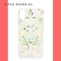 Rifle Paper.Co(ライフルペーパー) スマホケース・テックアクセサリー 【Rifle Paper.Co】Clear Tapestry iPhone X Case