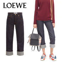 追跡ありで安心☆LOEWE 5 Pocket Jeans Dark Denim Blue
