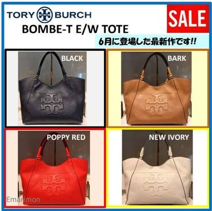 Tory Burch トートバッグ 2018年6月新作★Tory Burch★ BOMBE T E/W TOTE  A4収納可 48306(8)
