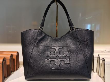 Tory Burch トートバッグ 2018年6月新作★Tory Burch★ BOMBE T E/W TOTE  A4収納可 48306(2)