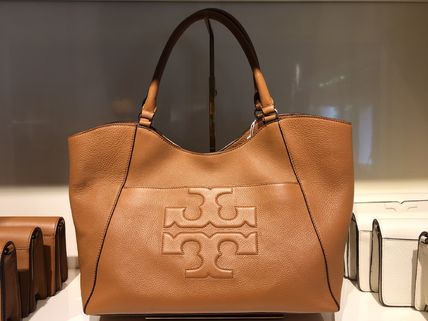 Tory Burch トートバッグ 2018年6月新作★Tory Burch★ BOMBE T E/W TOTE  A4収納可 48306(5)