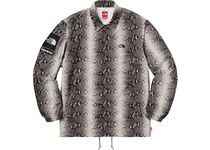 S Supreme The North Face Snakeskin Taped Seam Coaches Jacket