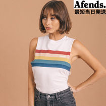 AFENDS(アフェンズ) タンクトップ 【最短当日発送】大人気☆AFENDS☆ Relevance Bandcut Tee
