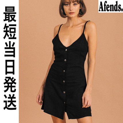 AFENDS ワンピース 【最短当日発送】大人気☆AFENDS☆ ヘンプドレス