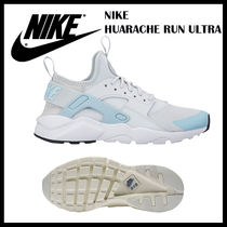 大人もOK★ナイキ★NIKE HUARACHE  Run Ultra★ 22.5cm-25cm★白