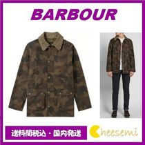Barbour(バブアー) ジャケットその他 国内発 BARBOUR バブアー HERITAGE WAXED CAMO SL BEDALE JACKET
