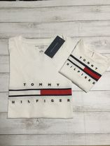 Tommy Hilfiger(トミーヒルフィガー) キッズ用トップス ママとリンクコーデ!★Tommy Hilfiger★人気キッズロゴTシャツ
