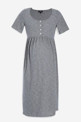 TOPSHOP マタニティワンピース 【国内発送・関税込】TOPSHOP★MATERNITY Striped Smock Dress(3)