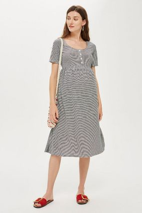 TOPSHOP マタニティワンピース 【国内発送・関税込】TOPSHOP★MATERNITY Striped Smock Dress(5)