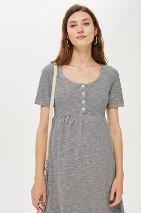 TOPSHOP マタニティワンピース 【国内発送・関税込】TOPSHOP★MATERNITY Striped Smock Dress(6)