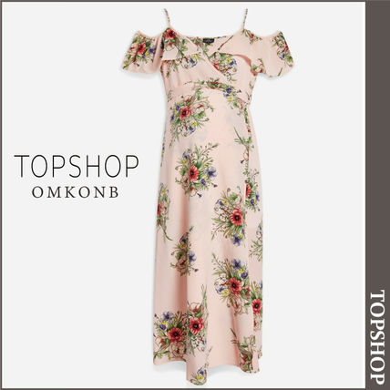 TOPSHOP マタニティワンピース 【国内発送・関税込】TOPSHOP★MATERNITY Floral Wrap Dress