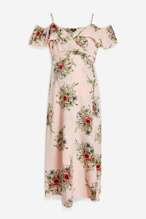 TOPSHOP マタニティワンピース 【国内発送・関税込】TOPSHOP★MATERNITY Floral Wrap Dress(2)