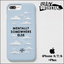 Urban Outfitters(アーバンアウトフィッターズ) スマホケース・テックアクセサリー Urban Outfitters☆ スカイ雲刺繍♪ iPhoneケース (6/7/8 Plus)
