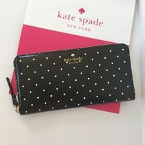 【kate spade】特別入荷☆ brooks drive lacey 長財布☆ドット柄