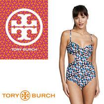 Tory Burch トリーバーチ Prism One Piece ワンピース水着
