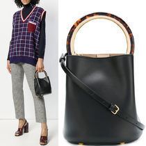 MARNI(マルニ) ハンドバッグ 18-19AW M449 PANNIER BUCKET BAG IN CALF LEATHER