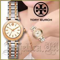 ★安心ヤマト便★TORY BURCH Classic T Two-Tone Watch TBW9011