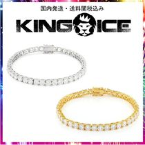 日本未入荷☆KING ICE☆5mm, Single Row Tennis Bracelet